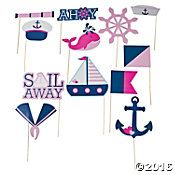 1/ Nautical Photo Stick Props by Mylittleshopsupplies on Etsy
