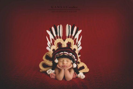Indian Headdress /Seminole Florida State by MimiLaCreations