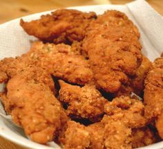 For that moment of weakness: KFC Style Grain-free Chicken Strips but these dont have any MSG!