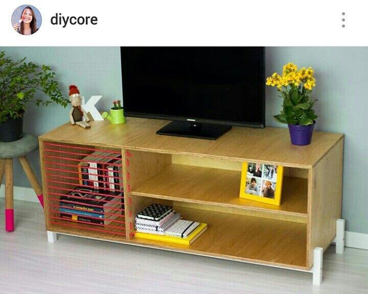 Diy Rack, Arte Video, Racks, Home, Woodworking, Diy Ideas, Creative