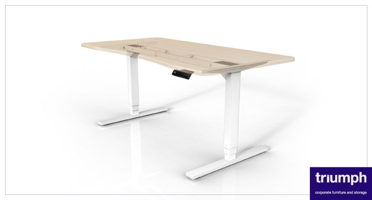Promoting a healthier work-style with Sit Stand desk technology – Triumph, investing in people.  www.triumphfurniture.com
