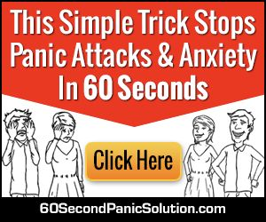 "Anna Gibson Steel's 60 Second Panic Solution is an all-in-one course to help you completely get rid of panic, anxiety, fears, phobias, stress, worry, obsessive compulsiveness, social anxiety and depression disorders. It is based on a revolutionary clinically proven form of therapy called ""Neuro-Acti"