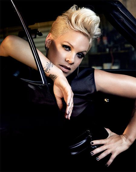 Alecia Beth Moore Hairstyles short hair cuts Pinterest - Beth Moore Hairstyles