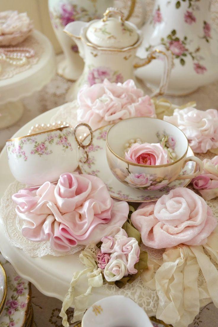 кофе белая посуда роза картинки фото девушка