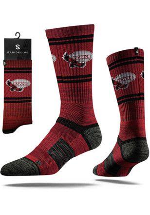 Saint Josephs Hawks Heather Crew Socks