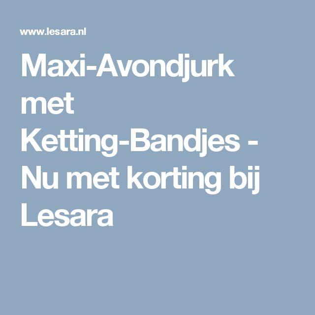 Maxi-Avondjurk met Ketting-Bandjes - Nu met korting bij Lesara
