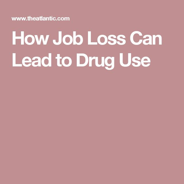 How Job Loss Can Lead to Drug Use