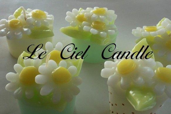 デイジーのキャンドル香りはフルーツパッション重さ100g|ハンドメイド、手作り、手仕事品の通販・販売・購入ならCreema。