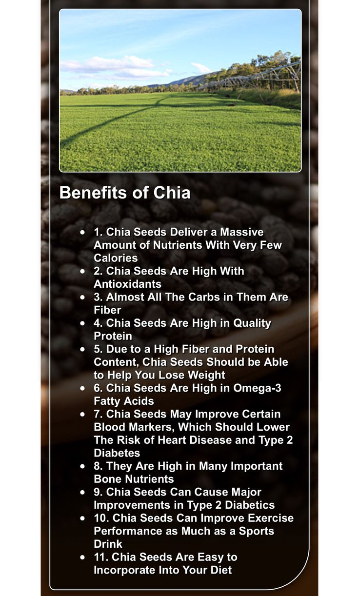 1000 Ideas About Benefits Of Chia Seeds On Pinterest