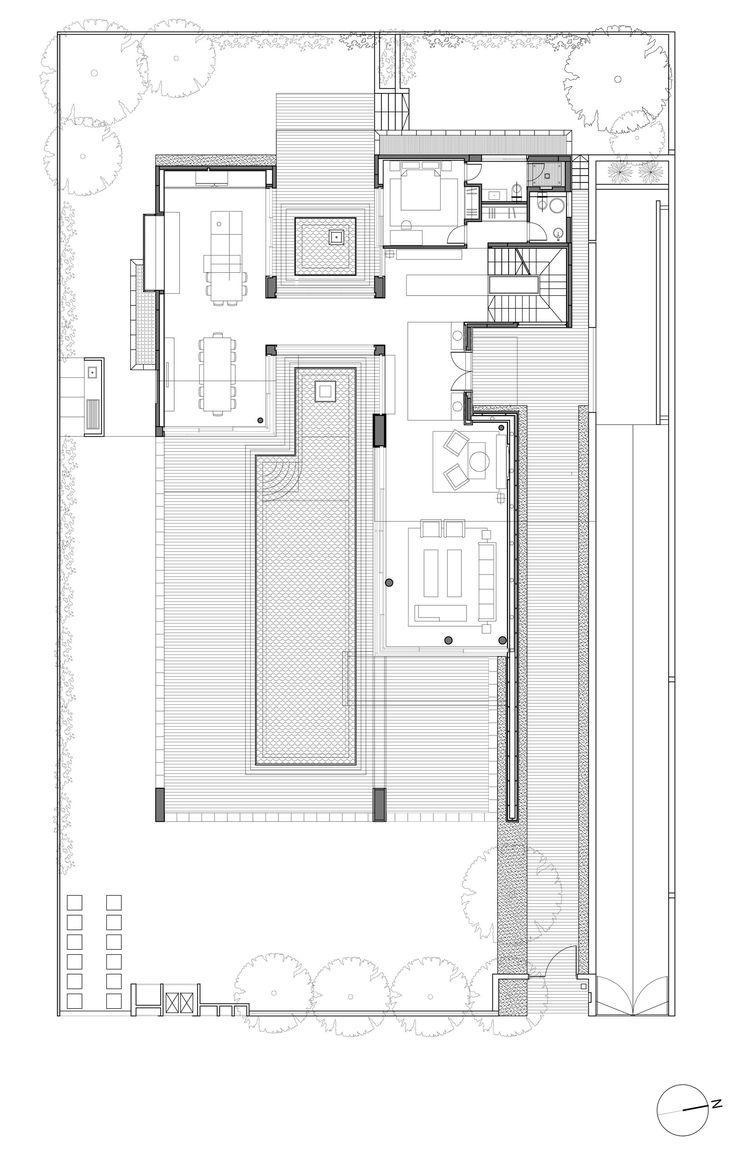 25 best ideas about villa plan on pinterest villas buy for Plan de villa moderne