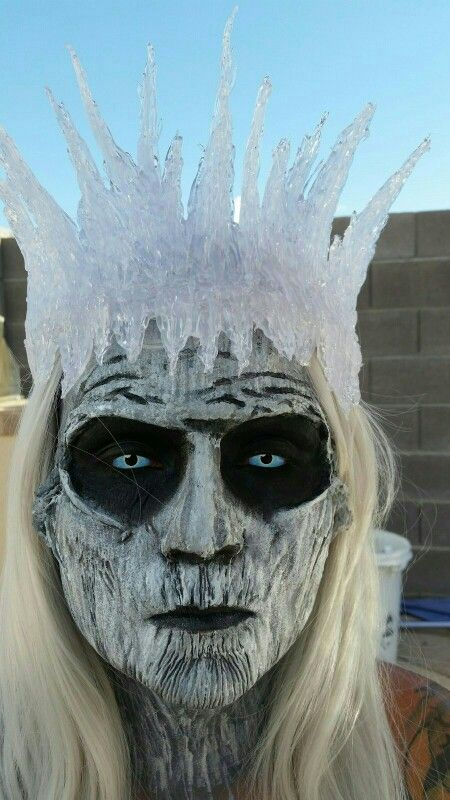 Game of Thrones White Walker Halloween Makeup