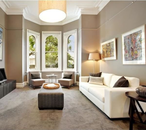 Victorian Room Colors: Inside/ Outside :: An Elegant Victorian Villa With A