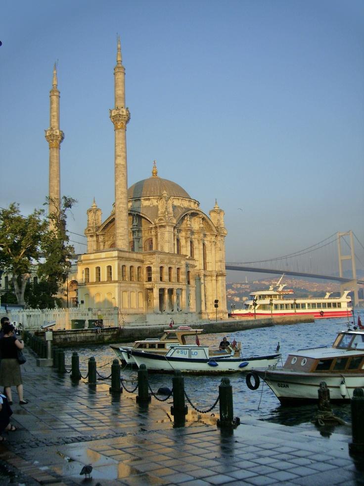 C A Turkey Istanbul Ortakoy Mosque & B...