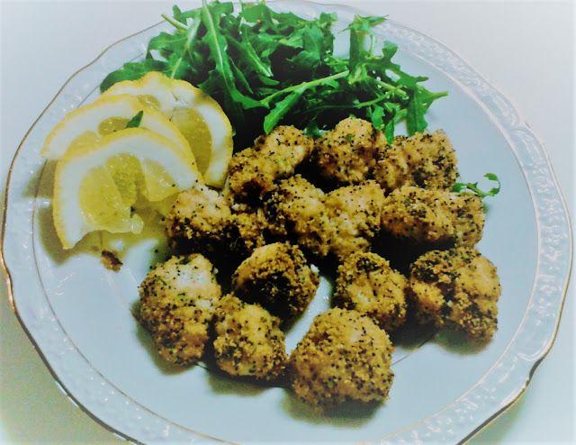 La cucina di Kelila: Bocconcini di coda di rospo con panatura ai semi d...