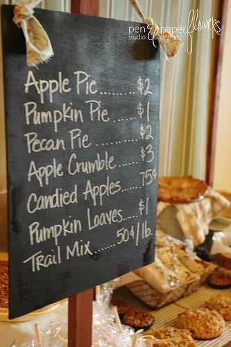 Thanksgiving Dessert menu?
