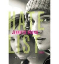 The Hate List by Jennifer Brown - please click on to read a very informative review of this book. So worth reading for parents to gain insight into an epidemic problem in schools. Could also be a great conversation starter with your kids if they would also read the story, which was written for young adults.