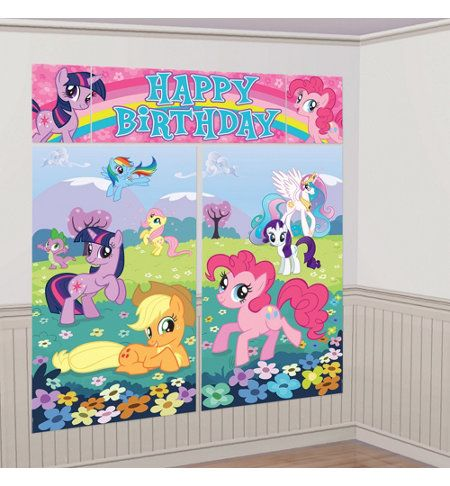 My Little Pony wall decoration $5.