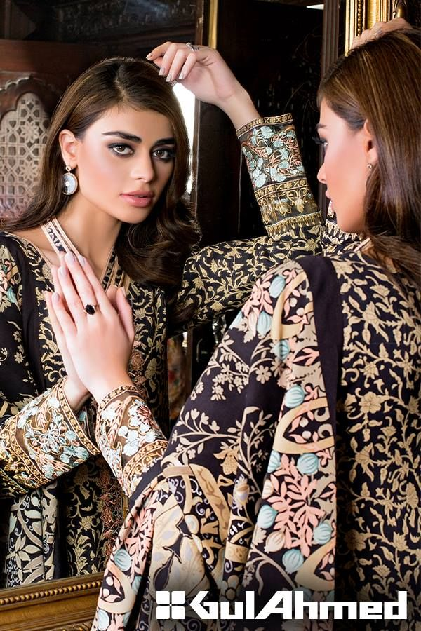 Charming Linen Collection 2015-2016 by Gul Ahmed