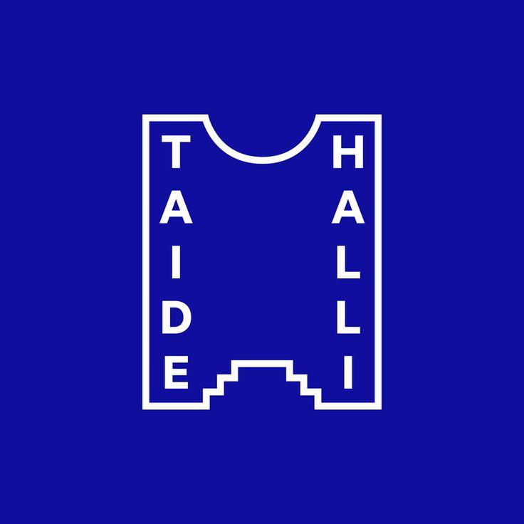 Logo designed by Tsto for Finnish contemporary art gallery Taidehalli.