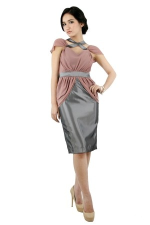 Two Tone Dress Cocoon Powered By LocalBrand