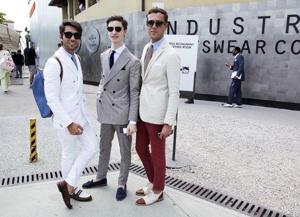 Fashion bloggers Filippo Fiora e Filippo Cirulli (TheThreeF) at Pitti Uomo 84