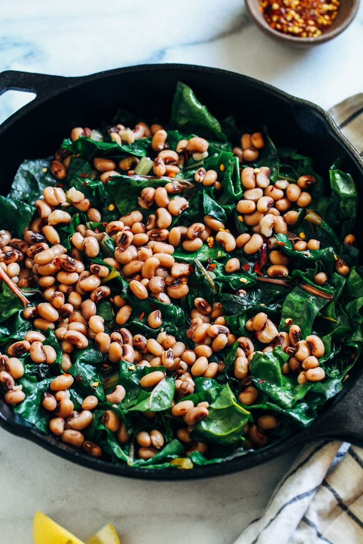 Lucky BlackEyed Peas Recipe for New Year's Day in 2020