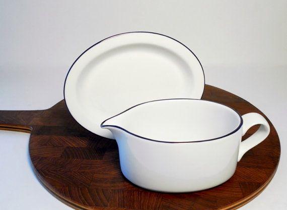 Dansk Bistro Gravy Bowl and Plate Set Christianshavn Blue & 15 best Dansk Dinnerware images on Pinterest | Dinner ware ...