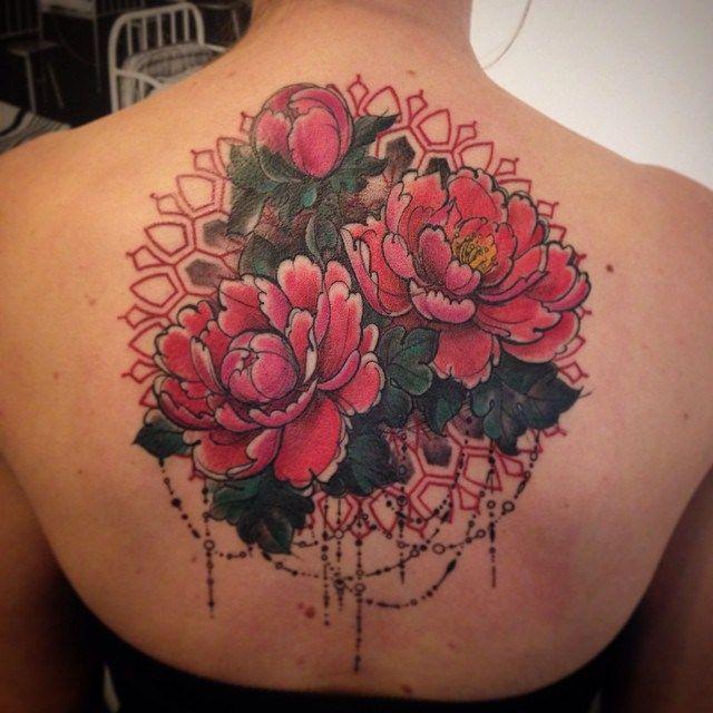 Baroque Elements Flowers tattoo by Aygul Bayanova