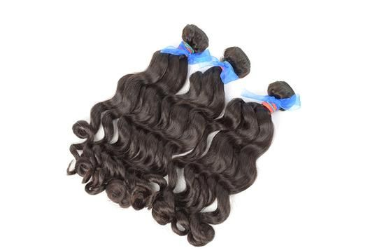 Easy Hair Indian Temple Hair Good Quality Loose Deep Hair Weft Double Weft (3) Bundles