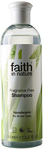 Faith 400 ml Organic Fragrance Free Shampoo
