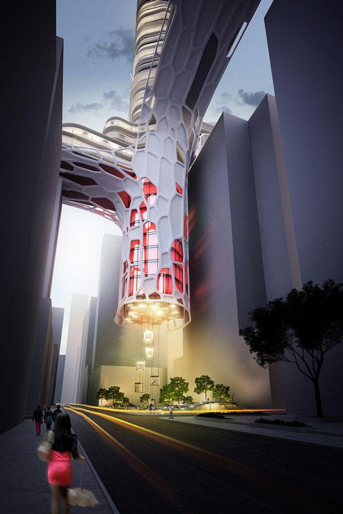 Гости из будущего. 19 самых футуристических проектов архитектуры U2014 Журнал U2014  MyHome