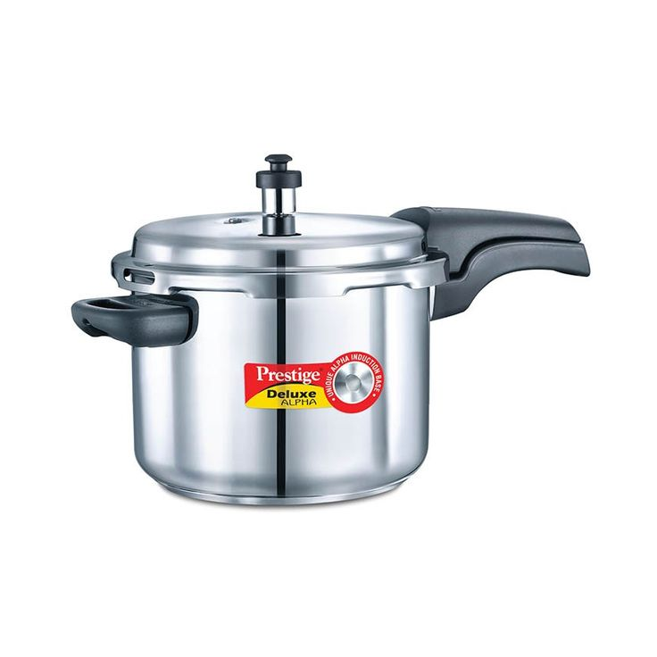 1 PIECE OF PRESTIGE DELUXE ALPHA 6.5 LITRE GAS & INDUCTION PRESSURE COOKER