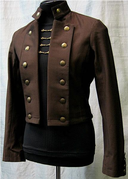steampunk mens jacket | Bavaria Jacket by Shrine Clothing Goth Steampunk Mens Jackets