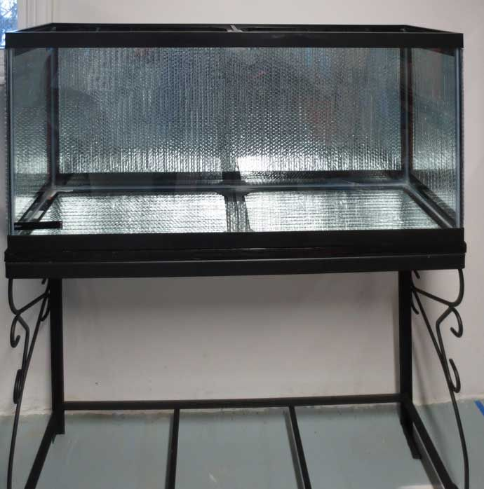 How to insulate your aquarium with Reflective Foil Insulation