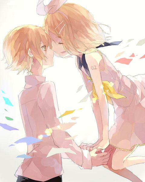 I don't ship Rin and Oliver, but I think the art's adorable. :3
