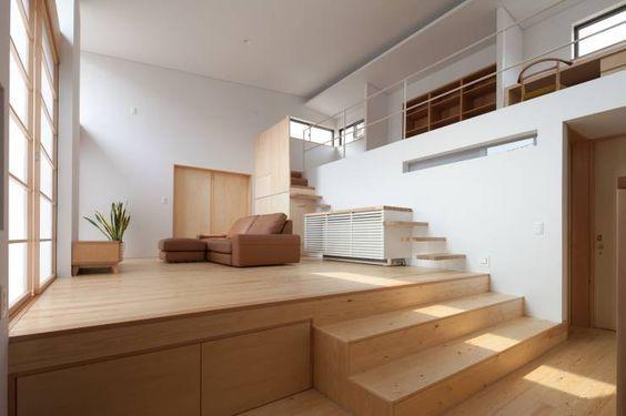 ドレミの家: 井川建築設計事務所が手掛けたオリジナルリビングです。