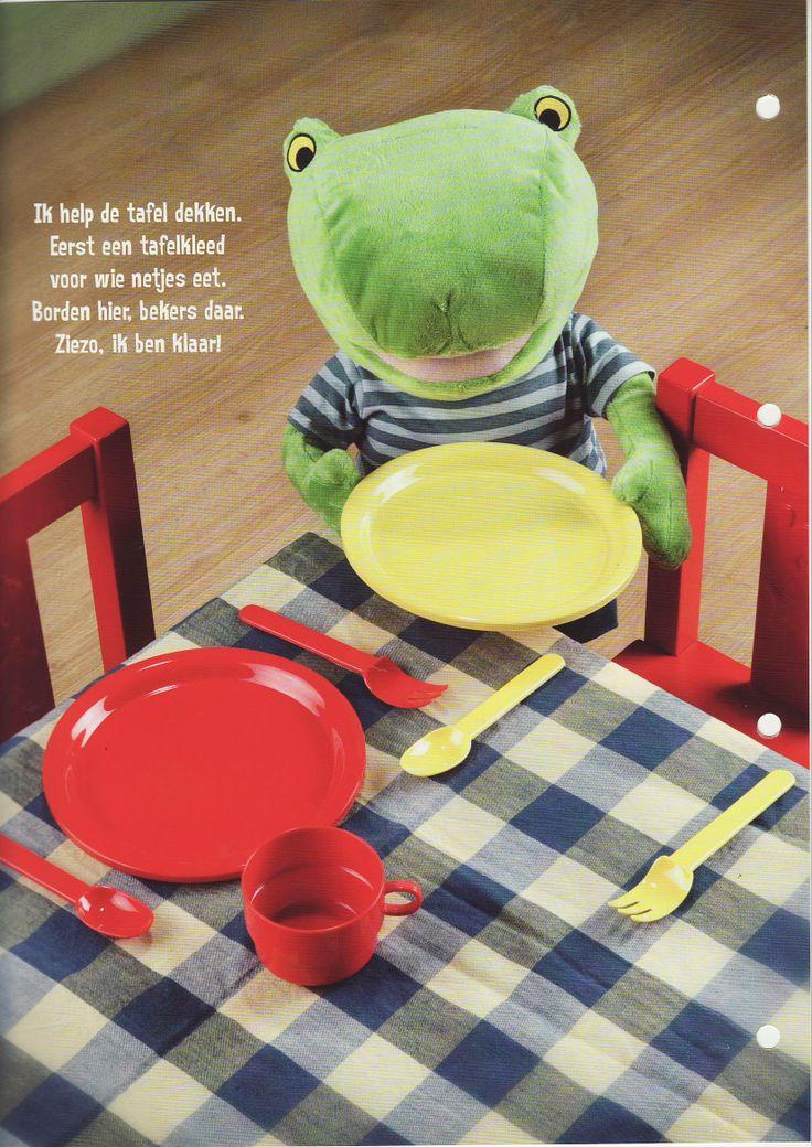 Kinder Tafel. Thema bij Gilsing Wonen in Zevenaar www.gilsingwonen.nl/