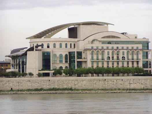 Nemzeti Színház - Budapest. Hungary fotó Pinczés Sándor