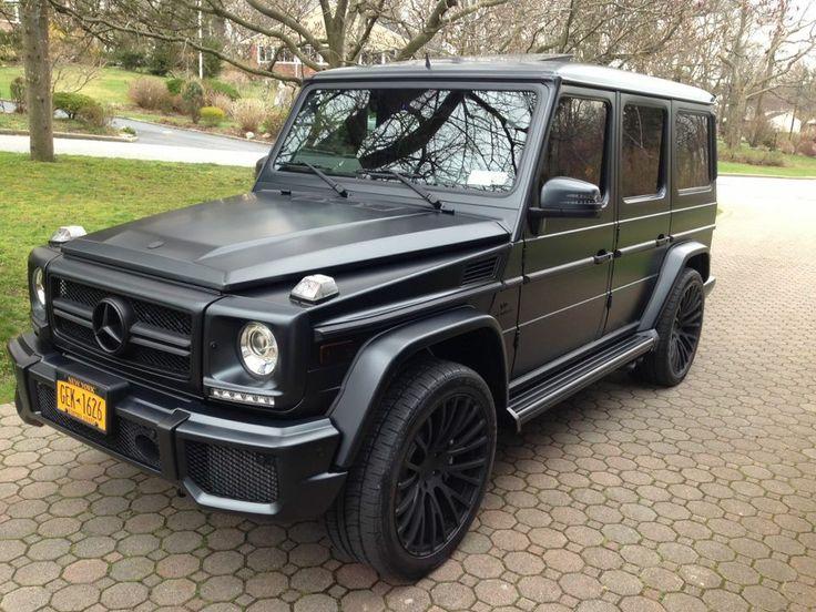 matte black mercedes g63 amg