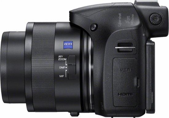 Sony - DSC-HX400 20.4-Megapixel Digital Camera - Black - Alt_View_Zoom_1