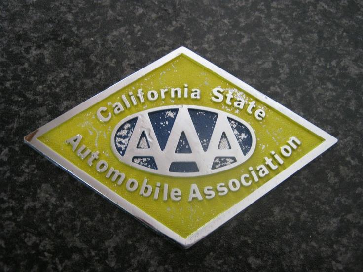 california state automobile association vintage badges pinterest automobile northern. Black Bedroom Furniture Sets. Home Design Ideas