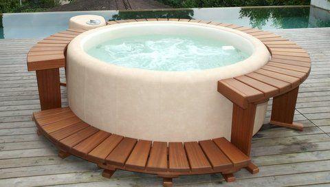 Idromassaggio e spa | Minipiscine e vasche idromassaggio | Tecnologia Softub