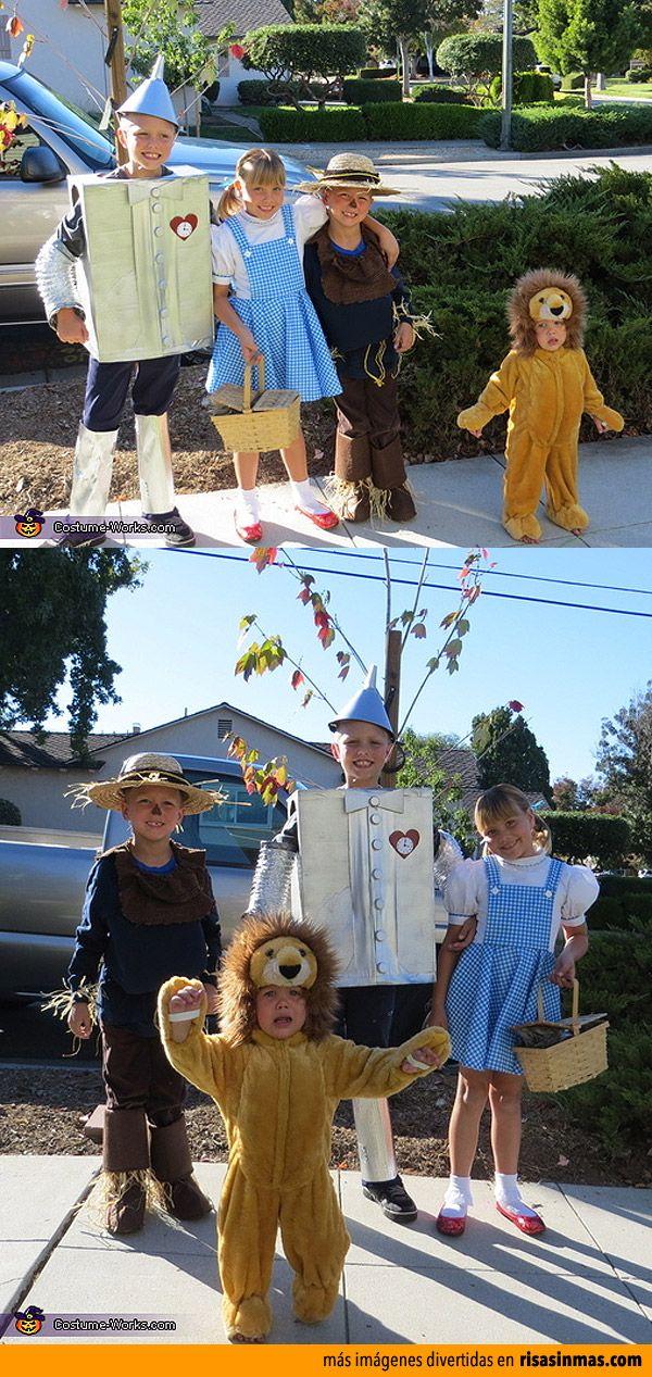 Disfraces originales: El mago de Oz.