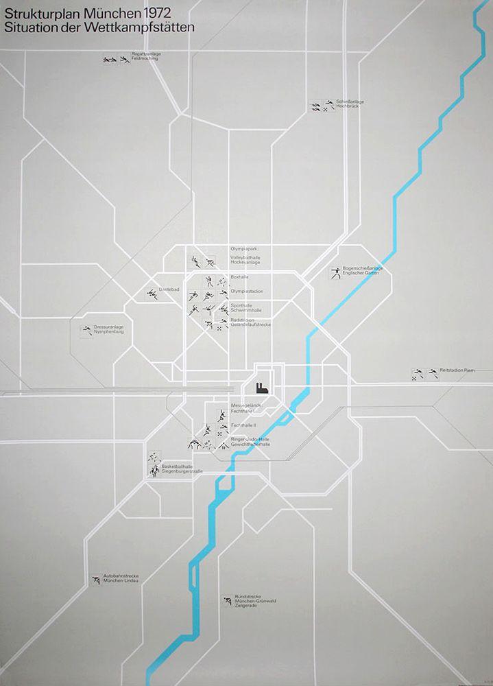 Der Gestaltingenieur Otl Aicher Map Design Otl Aicher Grafik Design