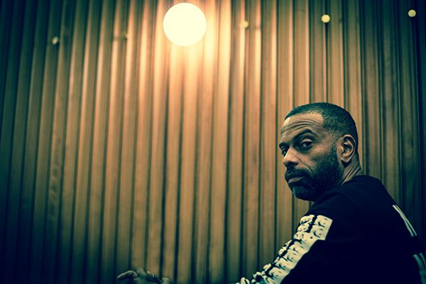 Theo Parrish shot by Kevin Lake