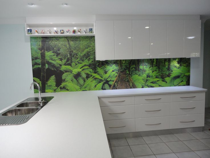 Entrant - Bill & Ben The Cabinet Men. Month - June. Product used - Formica Ice Quartstone and splashback in Laminex Fusion Melba Gully.