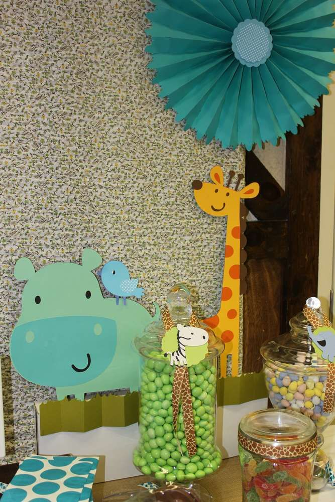 Safari/jungle Baby Shower Party Ideas | Photo 1 of 12 | Catch My Party