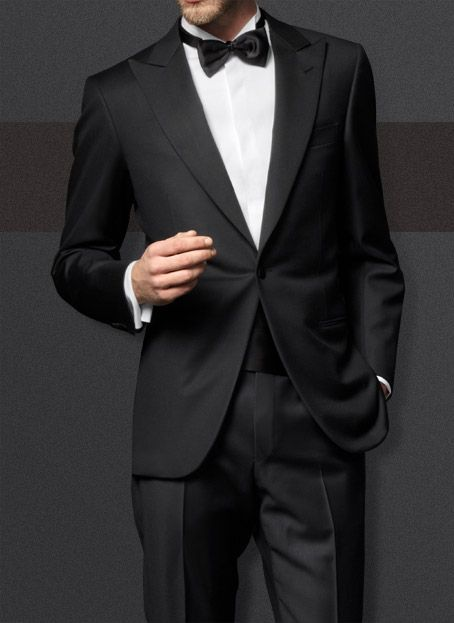 """Ermenegildo Zegna Su Misura Collection - Tuxedo    The permanent PREMIUM COLLECTION is offered in more than 300 exclusive renowned Ermenegildo Zegna fabrics. Made to measure any sartorial occasions, the signature Ermenegildo Zegna style is translated in classic renown fabrics ranging from """"HIGH PERFORMANCE MICRONSPHERE"""", """"TROFEO"""" and """"TROFEO 600"""", """"TRAVELLER MICROSPHERE"""" to the very refined """"14 MILMIL 14"""". And to suit special events, the elegant """"CERIMONIA"""" fabrics ensure a perfect fit to…"""
