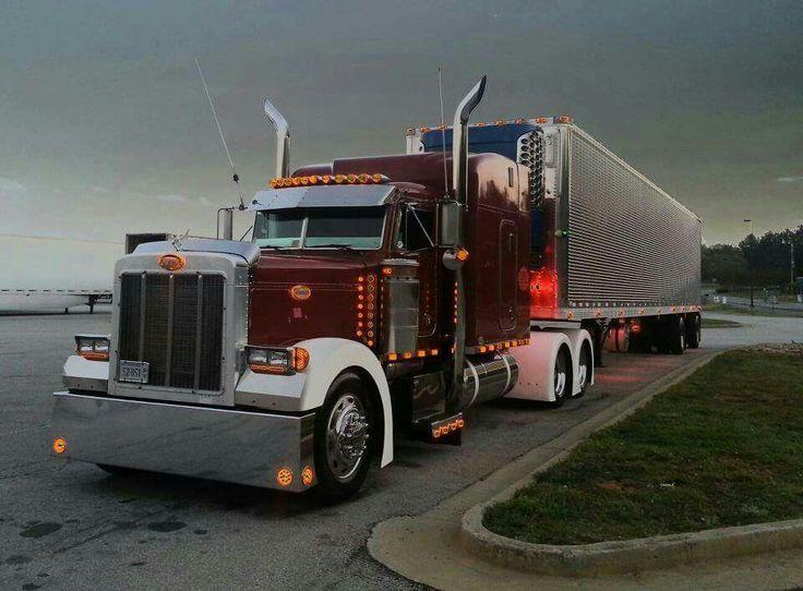 58 Best Custom Semi Images On Pinterest Big Trucks