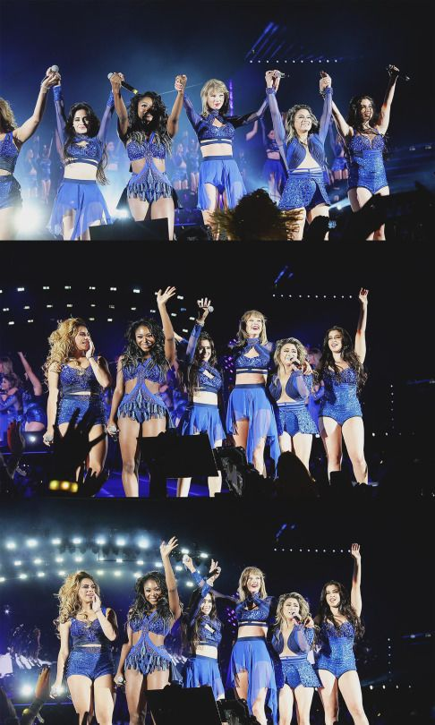 Fifth Harmony and Taylor Swift